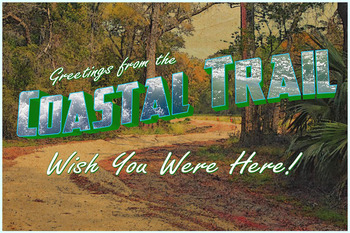 Capital City to Sea Trails postcard