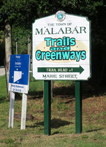 Malabar trail sign by Doug Alderson