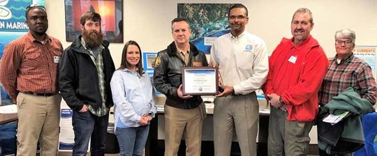 DEP Northwest District Presents Environmental Stewardship Award