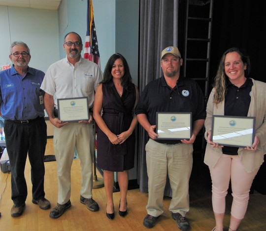 DEP Presents Plant Excellence Awards to Three Southeast Florida Facilities