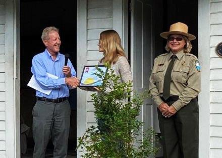 South District Gives Environmental Award to Isabella Peedle