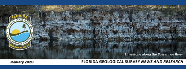 Florida Geological Survey News and Research - January 2020