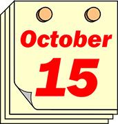 October 15 deadline!