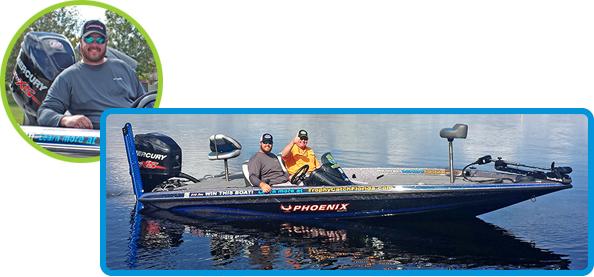 Phoenix bass boat