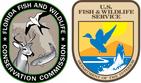 FWC Logo and USFWS Logo
