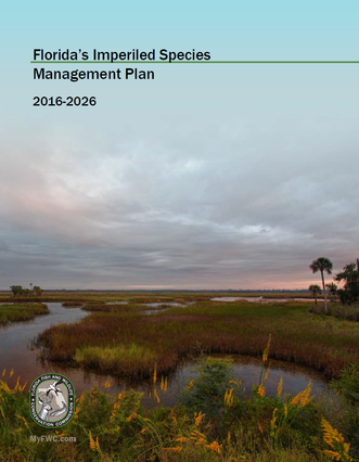 Imperiled Species Management Plan cover