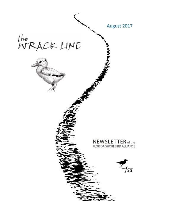 August 2017 Wrack Line Cover