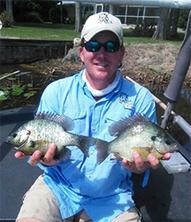 Lake Pierce sunfish