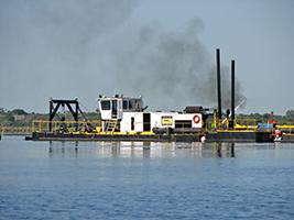 Lake Trafford dredging