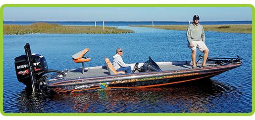 Phoenix TrophyCatch bass boat