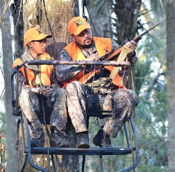 Family hunts