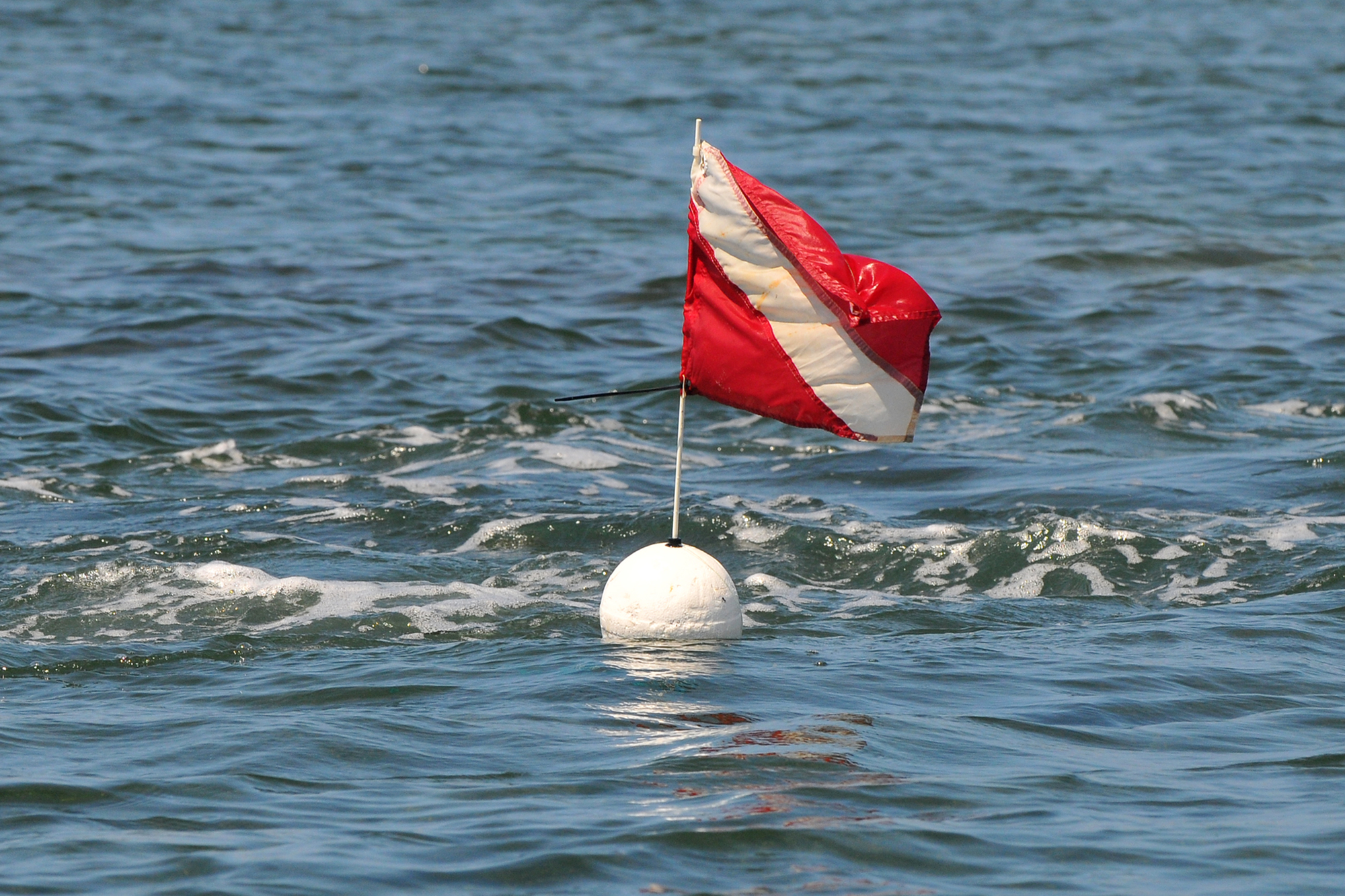 divers-down flag