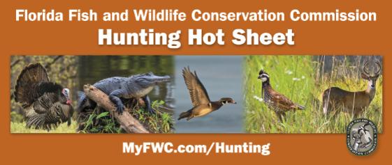Hunting Hot Sheet masthead