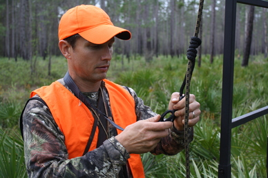 Treestand safety tips