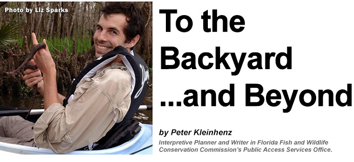 To the Backyard ...and Beyond. By Peter Kleinhenz, Interpretive Planner and Writer, FWC Public Access Services Office.