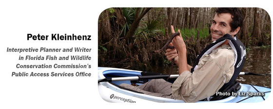 Peter Kleinhenz Interpretive Planner and Writer in Florida Fish and Wildlife Conservation Commission's Public Access Services Office