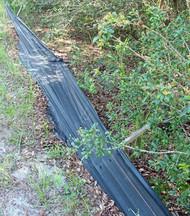Plastic Wildlife Barrier