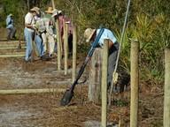 Ridge Rangers Install Fencing