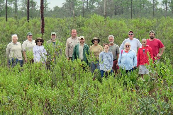 Group Photo - Ridge Rangers, Jay Watch, and FWC Staff