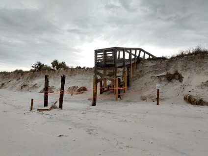 Hurricane Micahel Impacts - Beaches 4