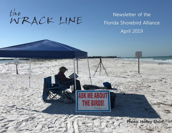 April 2019 Wrack Line Cover Photo