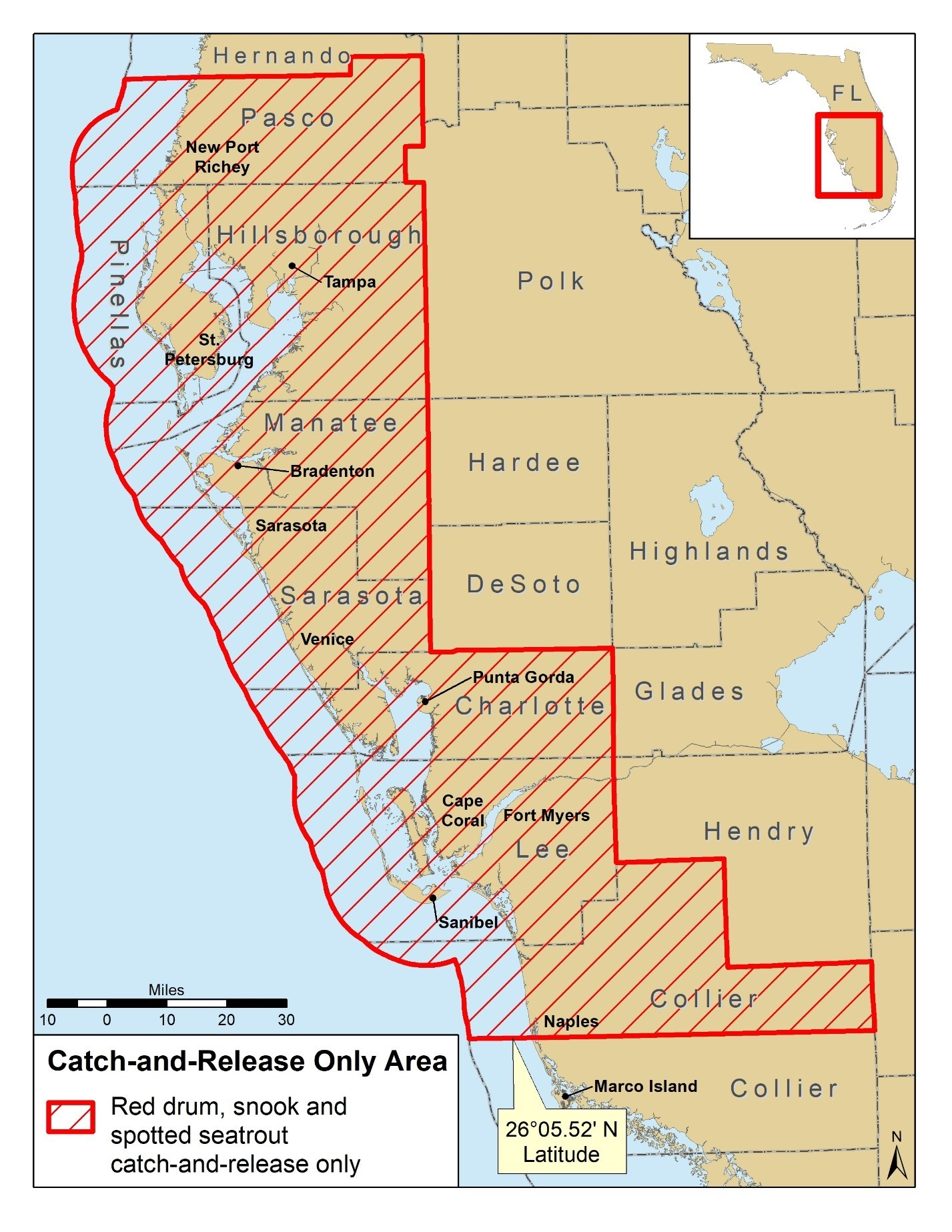 Red Tide Map_050119