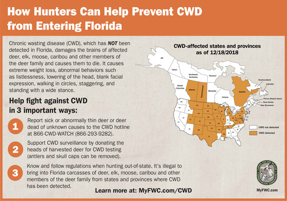 How to prevent CWD