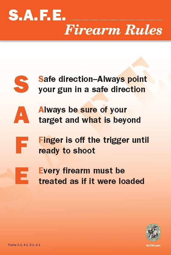 Safe firearms handling