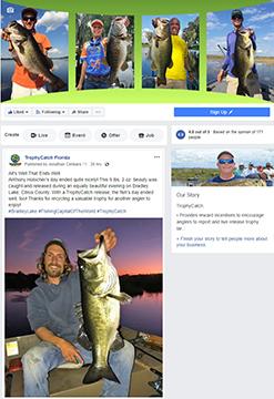 TrophyCatch Facebook