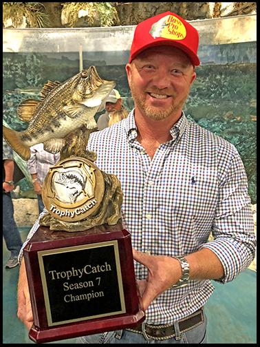 Brian Hammett TrophyCatch Champion