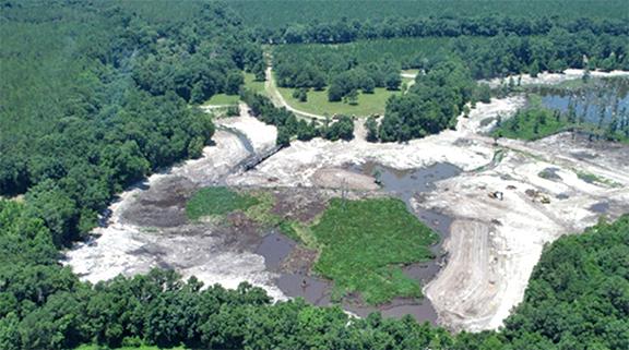 Suwannee Lake restoration project