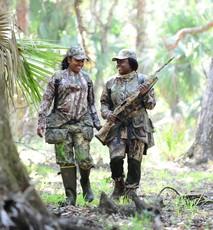 Female turkey hunters