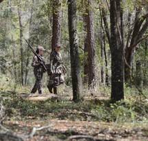 Youth turkey hunting