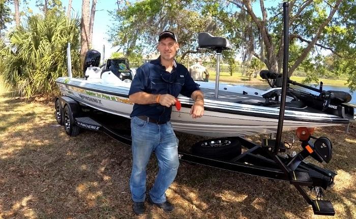 bass boat winner