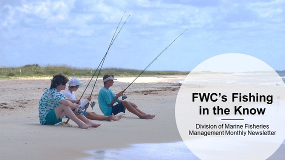 Fishing in the Know Marine Fisheries Monthly Newsletter cover image