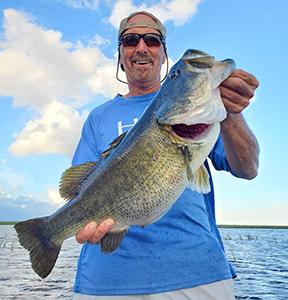 Lake Okeechobee angler