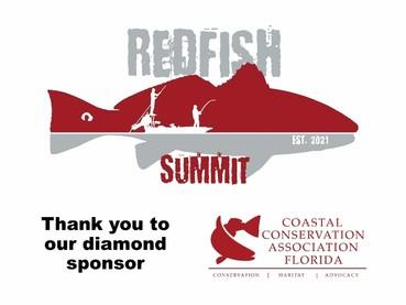 redfish summit with cca logo