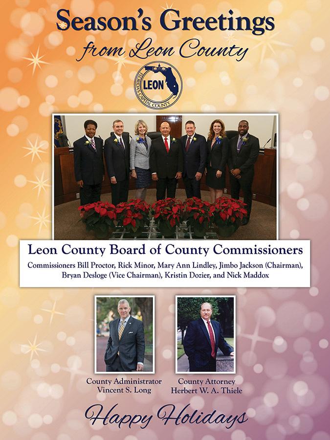 Leon County Holiday Card
