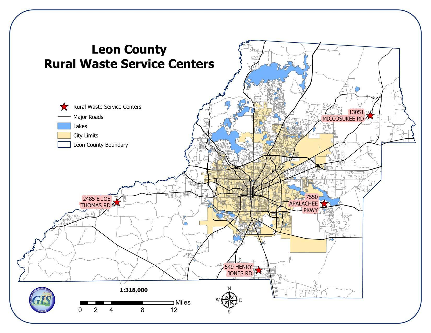 Leon County Rural Waste Service Centers