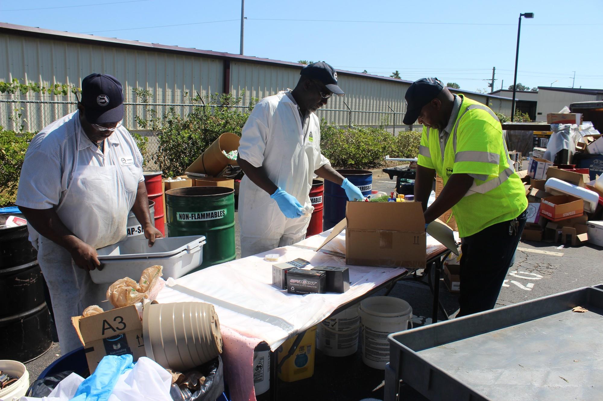 Leon County Household Hazardous Waste Event