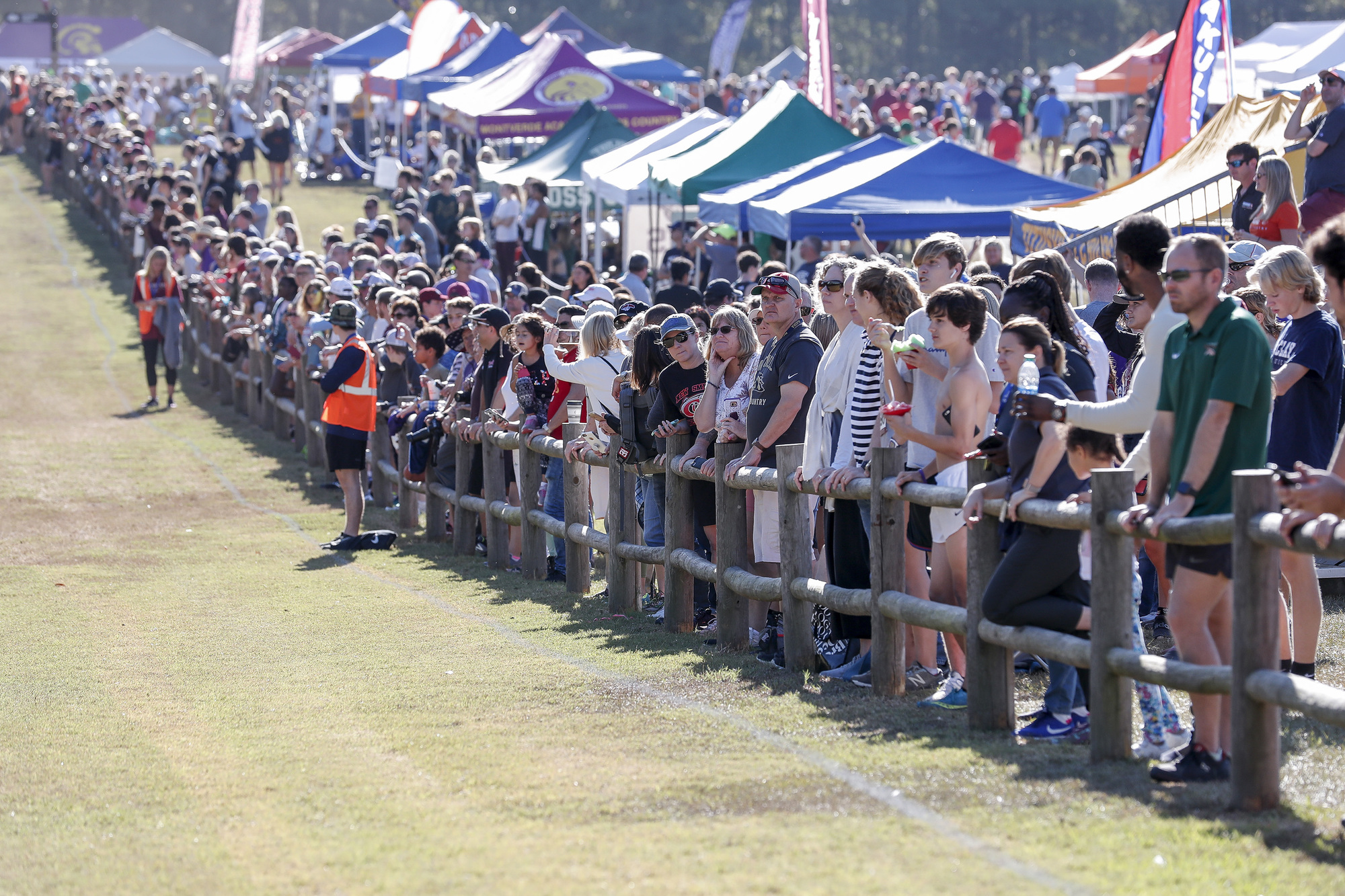 Image of a cross-country event at Apalachee Regional Park