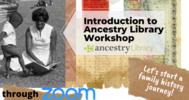 Ancestry Library Workshop