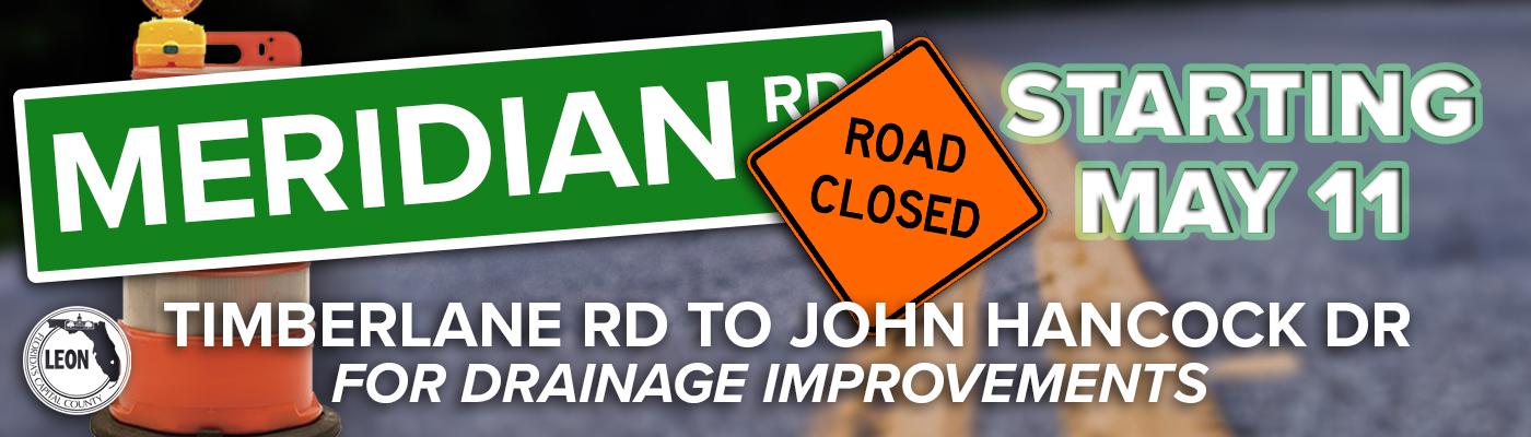 Meridian Road Closure