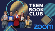 Teen Book Club event graphic
