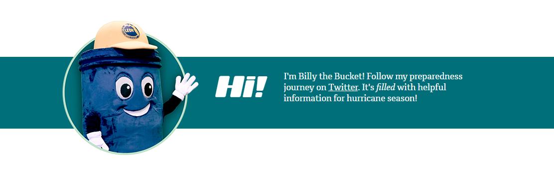 Follow Billy the Bucket on Twitter