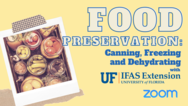 Food Preservation event graphic