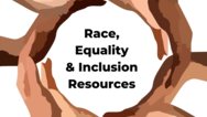 Race Equality and Inclusion page graphic
