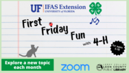 First Friday Fun with 4-h