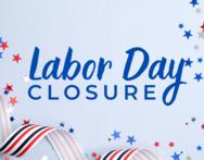 Labor Day closure image