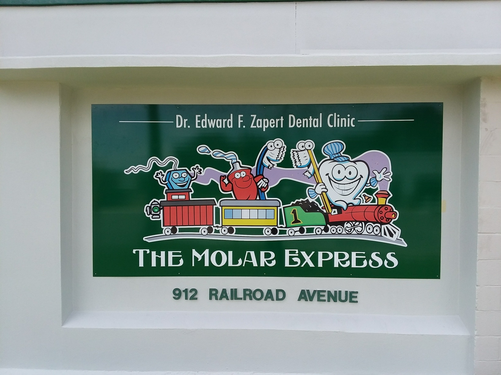 Molar Express Signage